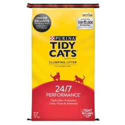 Purina Tidy Cats Clumping Cat Litter 24/7 Performance for Multiple Cats