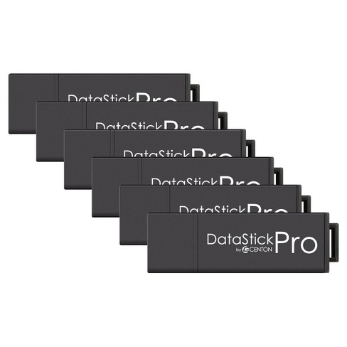 Centon MP ValuePk USB 3.0 Datastick Pro 8GB, 5Pk Bulk - Black (S1-U3P6-8G-5B) - image 1 of 1