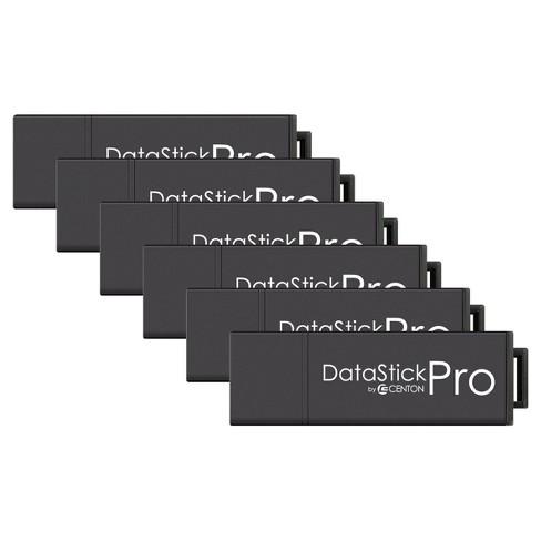 Centon MP ValuePk USB 3.0 Datastick Pro 64GB, 5Pk Bulk - Black (S1-U3P6-64G-5B) - image 1 of 2
