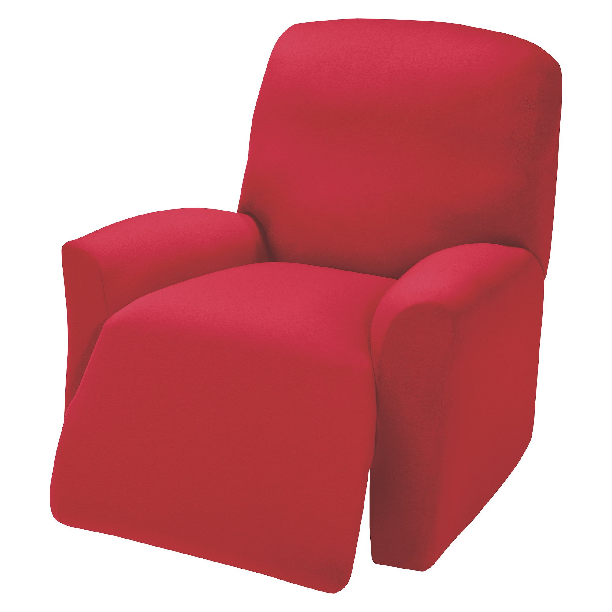 Red Jersey Large Recliner Slipcover - Madison Industries