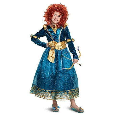 Disney Princess Brave Girls Merida Deluxe Halloween Costume