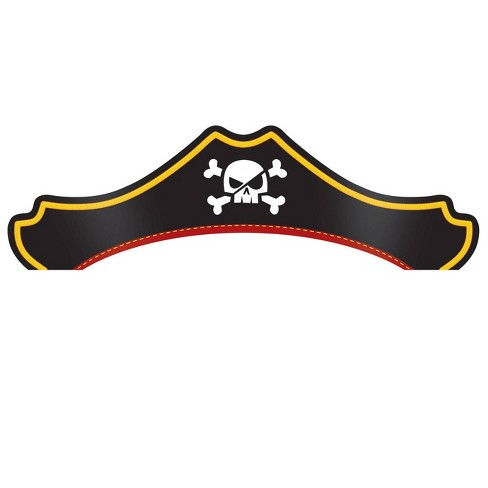 24ct Treasure Island Pirate Party Hats - image 1 of 4