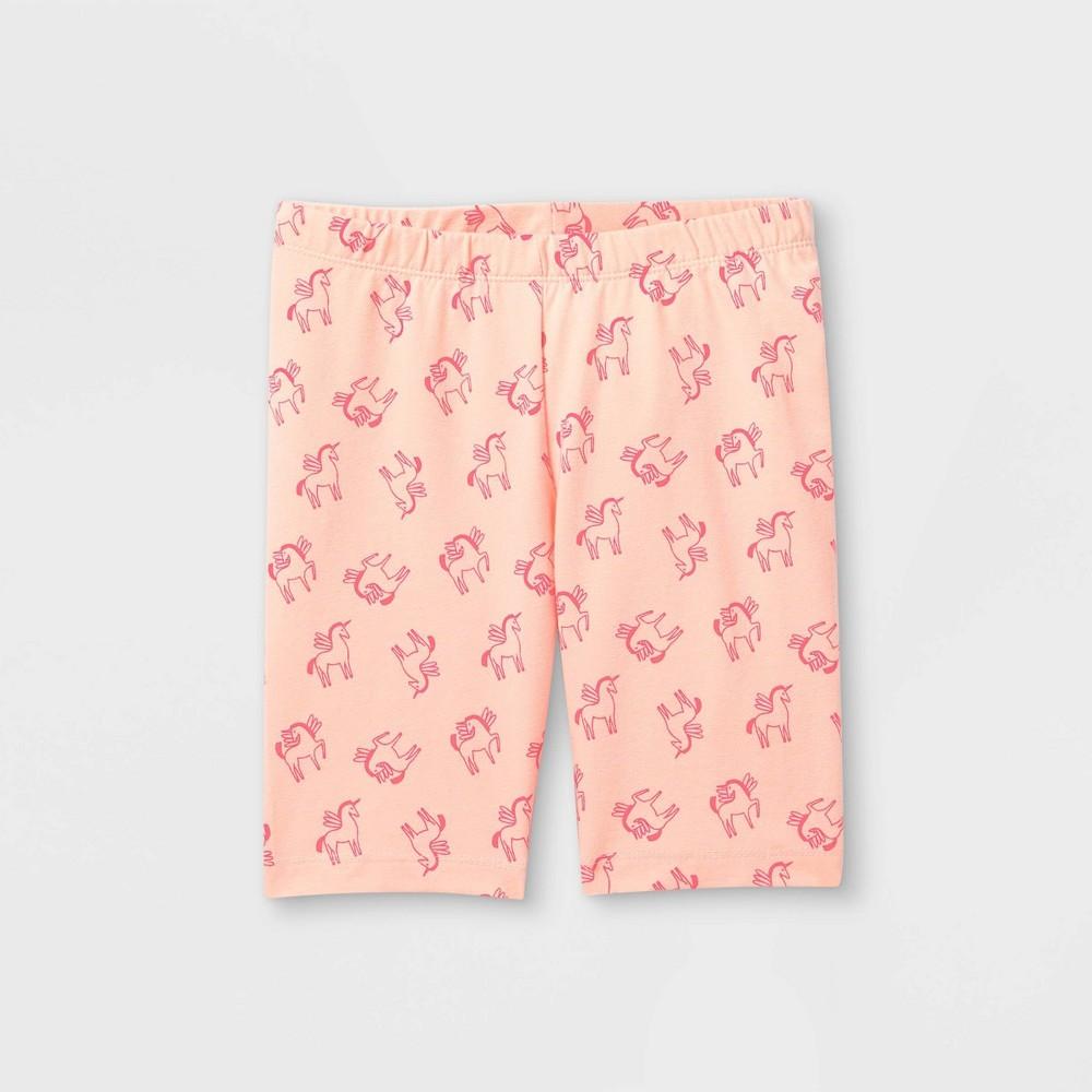 Girls 39 Unicorn Mid Length Bike Shorts Cat 38 Jack 8482 Pink Xxl