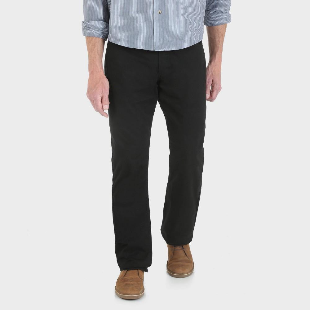 Wrangler Men's Regular Fit Five Pocket Pants - Black 33x30