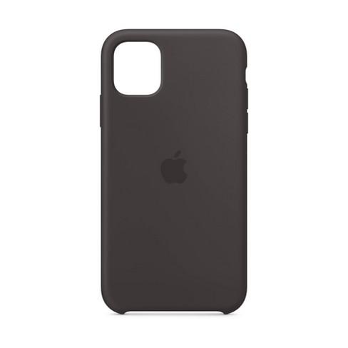 Apple iPhone 11 Silicone Case - Black - image 1 of 3
