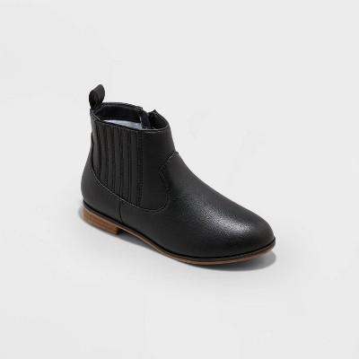 Girls' Nikara Zipper Chelsea Boots - Cat & Jack™
