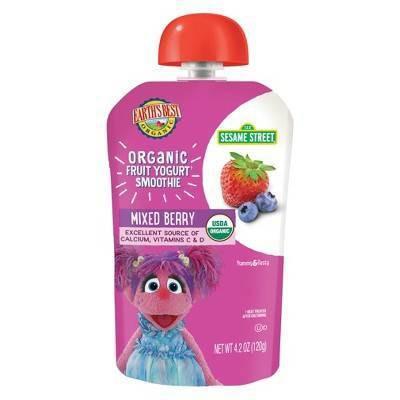 Earth's Best Organic Mixed Berry Yogurt Smoothie - 4.2oz