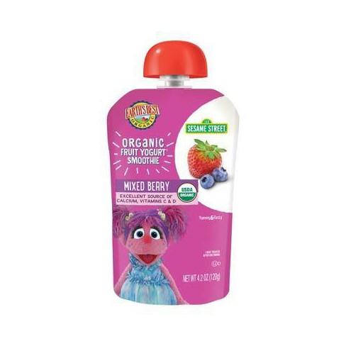 Earth's Best Organic Mixed Berry Yogurt Smoothie - 4.2oz - image 1 of 3