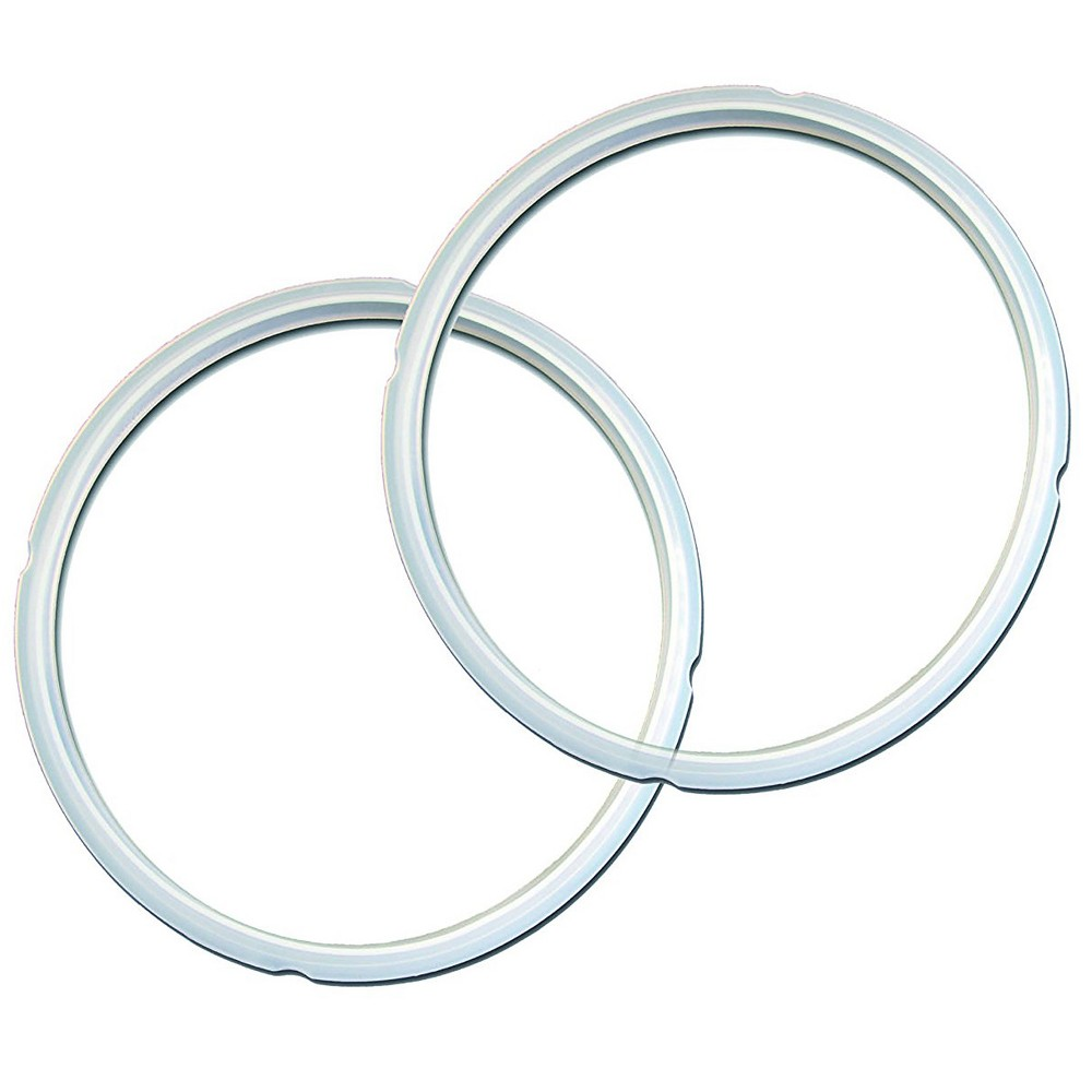 Image of 3qt Clear Sealing Ring (2pk)