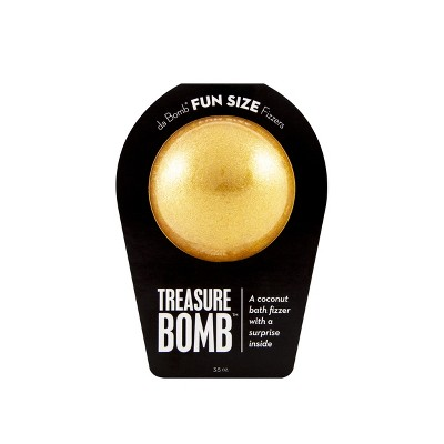 Da Bomb Bath Fizzers Treasure Bath Soaks - 3.5oz