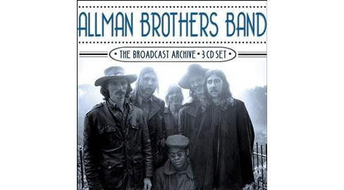 Allman Brothers Band - Broadcast Archive (CD) - image 1 of 1