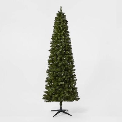 9ft Unlit Slim Alberta Spruce Artificial Christmas Tree - Wondershop™