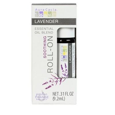 Aura Cacia Lavender Essential Oil Roll-On - .31 fl oz