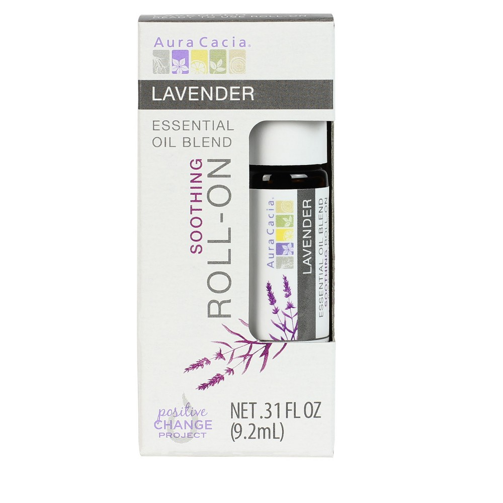 Aura Cacia Lavender Essential Oil Roll-On - .31oz