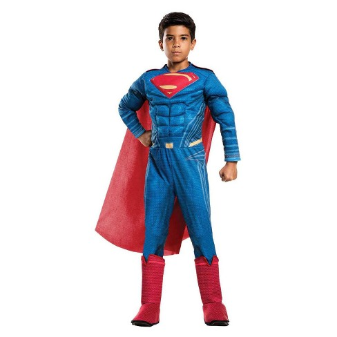 929e7a4470d Justice League Superman Boys' Deluxe Costume