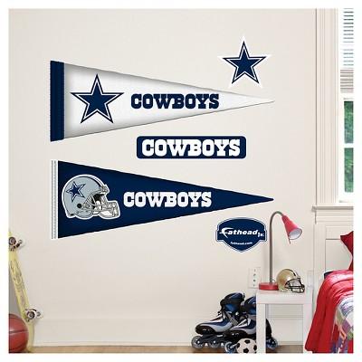 Decorative Wall Art Set Fathead 40 X 3 X 3 Dallas Cowboys