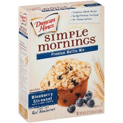 Duncan Hines Blueberry Muffin Mix - 21.5oz