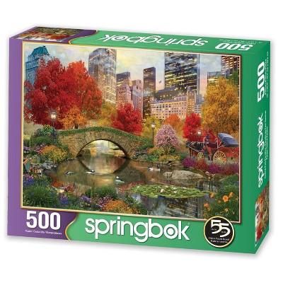 Springbok Central Park Paradise Puzzle 500pc
