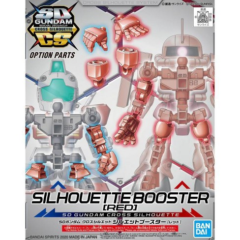 Bandai Hobby SDCS Gundam Cross Silhouette Booster Red SD Model Kit - image 1 of 3