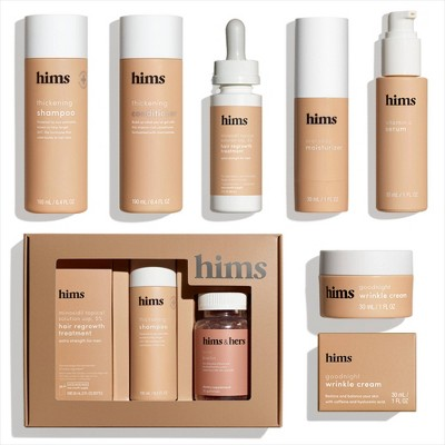Hims Hair and Skin Collection