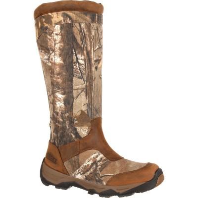 Men's Rocky Retraction Waterproof Side-Zip Snake Boot