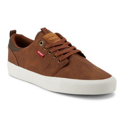 Levi's Mens Alpine Tumbled Stacked Casual Sneaker Shoe