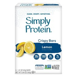 SimplyProtein Crispy Bars - Lemon - 4ct