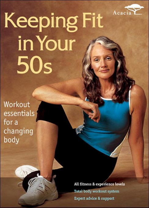 Keeping fit in your 50s (DVD) - image 1 of 1