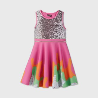 Girls' JoJo Siwa Slime Dress - L