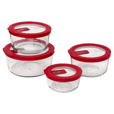 Pyrex 8pc Food Storage Containers