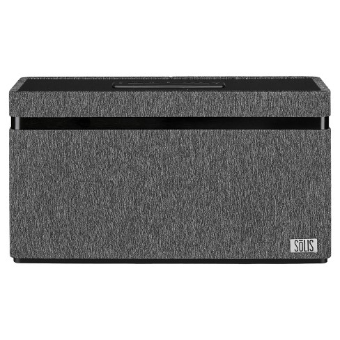 SOLIS Bluetooth/Wi-Fi Stereo Smart Speaker with Chromecast built-in - Gray (SO-3000) - image 1 of 4