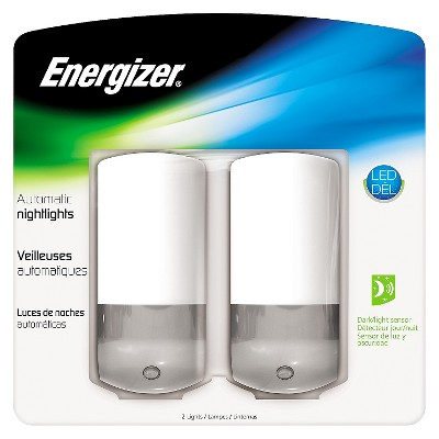 Automatic LED Nightlight 2pk - Energizer