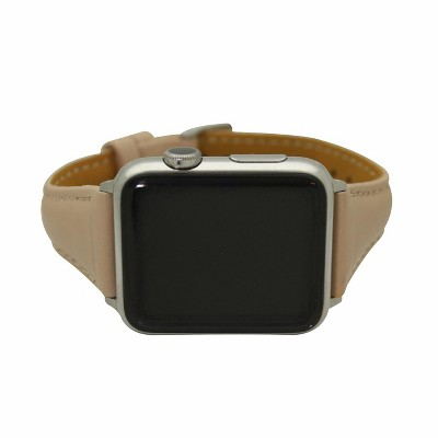 Olivia Pratt Skinny Leather Apple Watch Band