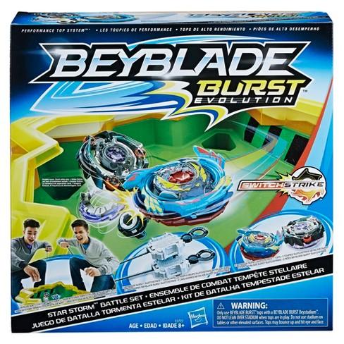beyblade burst evolution star storm battle set target
