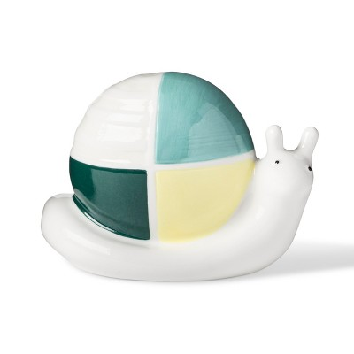Nightlight Ceramic Snail - Cloud Island™ White