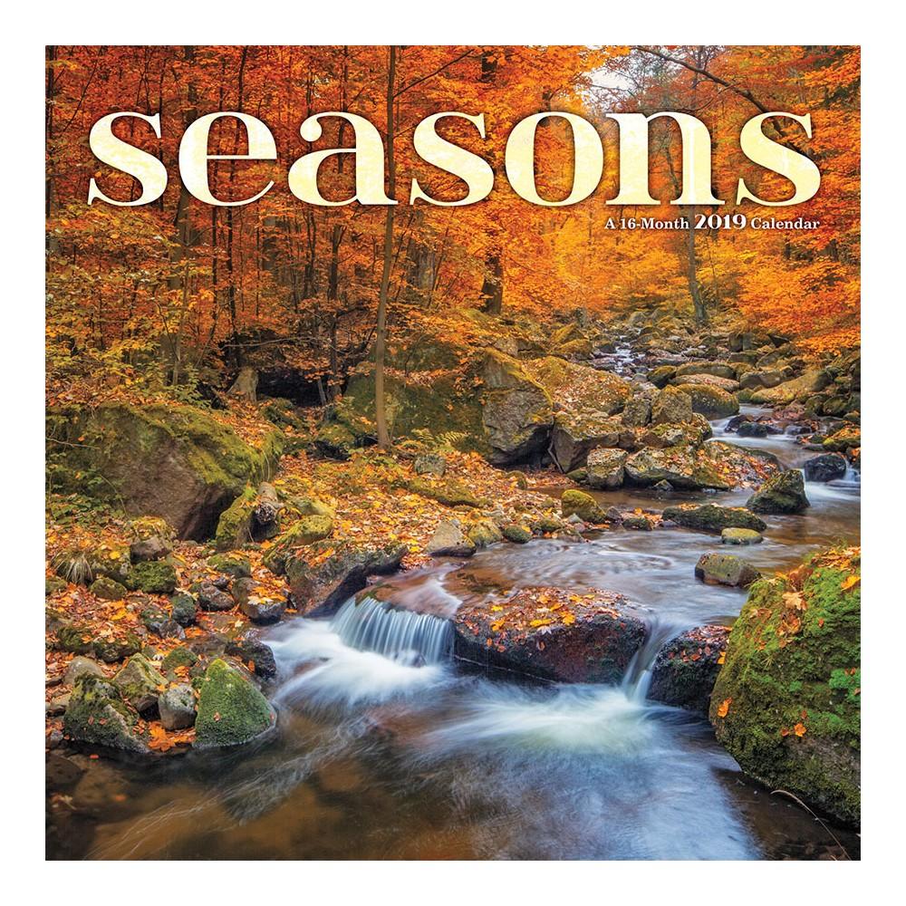 2019 Wall Calendar Seasons - Trends International, Multi-Colored