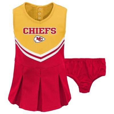 NFL Kansas City Chiefs Toddler Girls' Cheer Set
