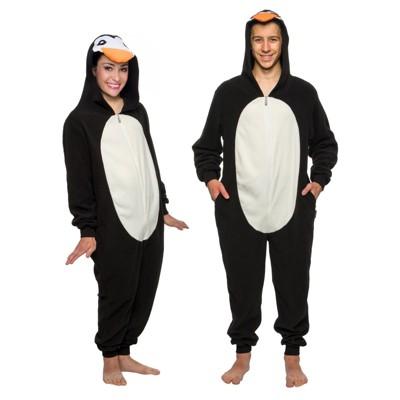 Funziez! Penguin Slim Fit Adult Unisex Novelty Union Suit