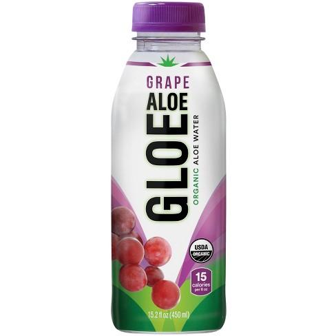 Aloe Gloe White Grape - 15.2 fl oz Bottle - image 1 of 3