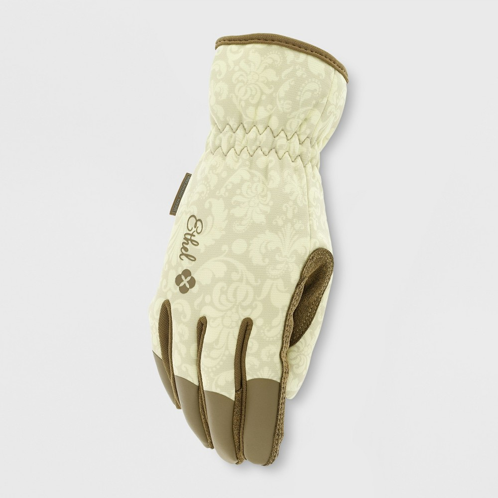 Image of Ethel Gardening Gloves Rendezvous Off-White L - Mechanix Wear, Women's, Size: Large, Beige