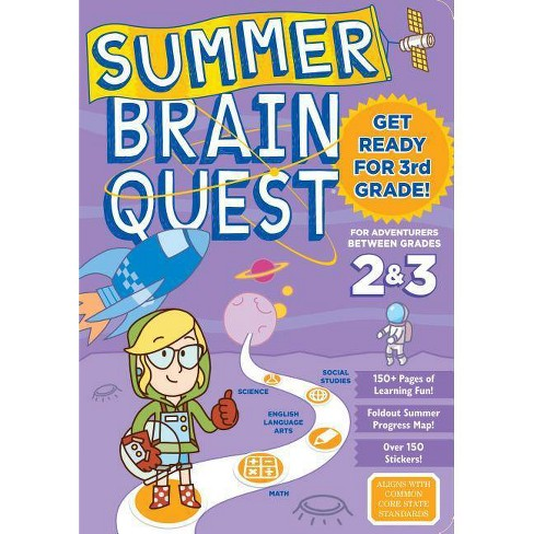 Summer Brain Quest : Between Grades 2 & 3 (Paperback) - by Persephone Walker - image 1 of 1