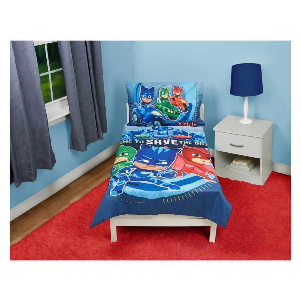 Image of PJ Masks Toddler Bedding Set Blue