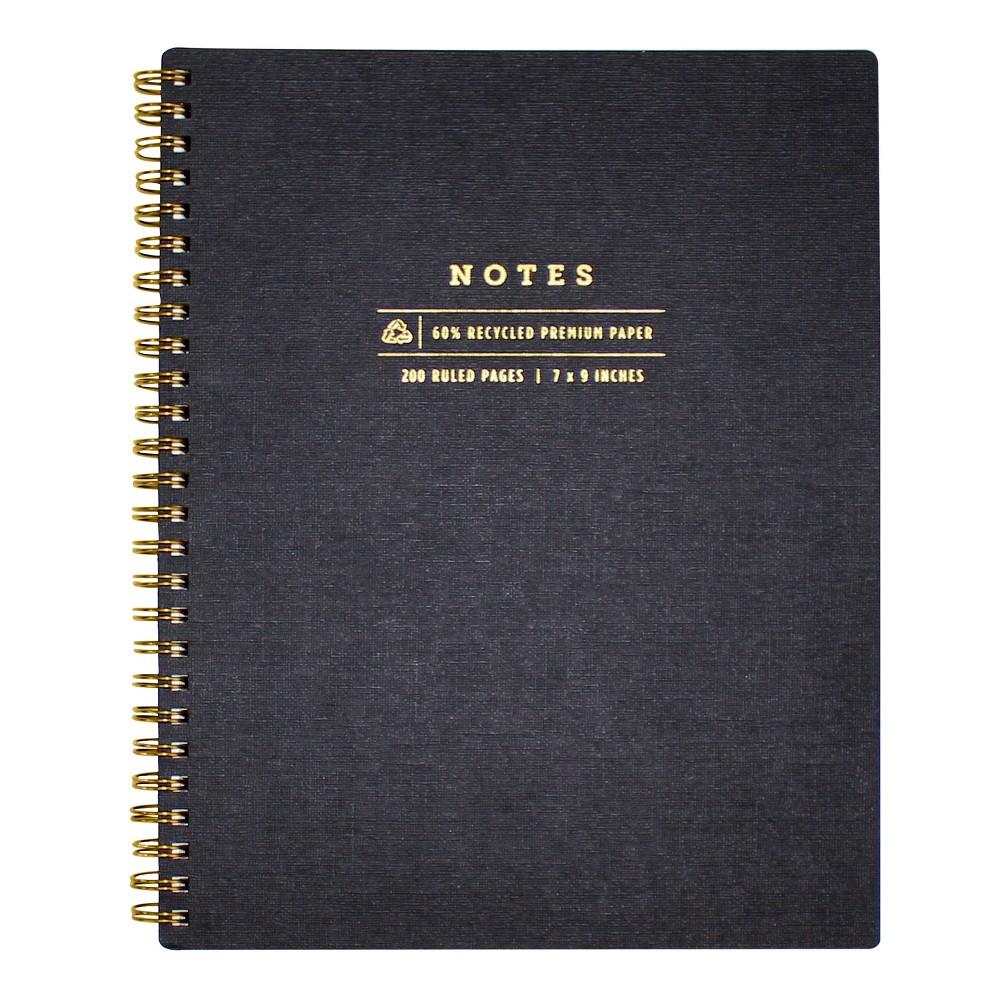 Image of greenroom Lined Journal Hardcover - Black