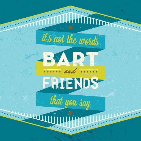 Bart  &  Friends - It's Not the Words That You Say (CD) - image 1 of 1