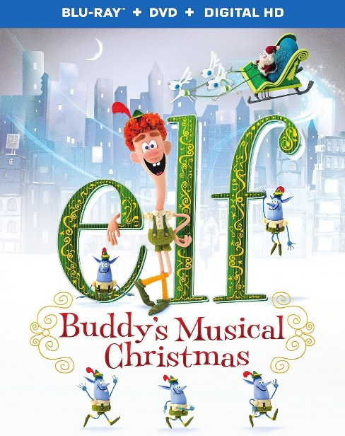 Elf:Buddy's musical christmas (Includes digital hd ultraviolet) (Blu-ray) - image 1 of 1