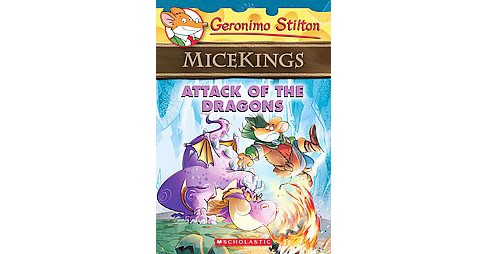 Attack of the Dragons (Paperback) (Geronimo Stilton) - image 1 of 1