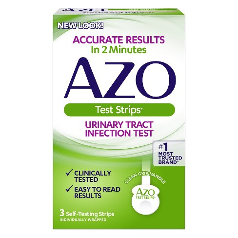 AZO Test Strips Urinary Tract Infection Test - 3ct - image 1 of 2