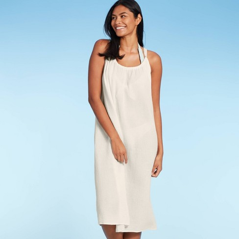 Women's Midi Cover Up Dress - Kona Sol™ - image 1 of 4