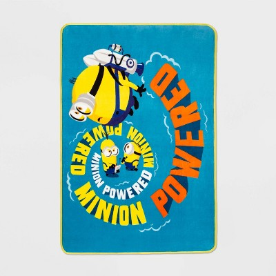 Minions The Rise of Gru Throw Blanket