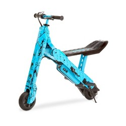 Viro Rides Vega 2-n-1 Transforming Electric Scooter - Blue Comic